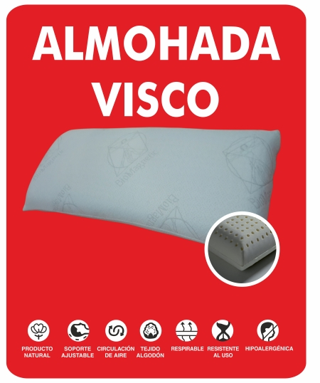 almohada visco