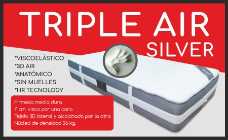 colchon triple air